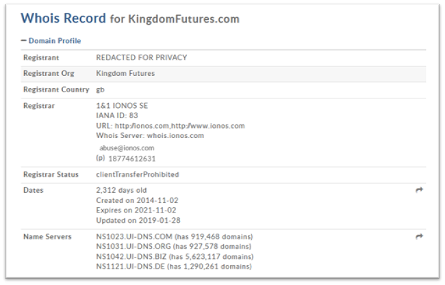 KINGDOM FUTURES сайт